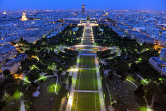 Night View Of The Campo Marzio Royalty Free Stock Images
