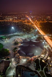 Night view of Olympiapark in Munich Royalty Free Stock Photography