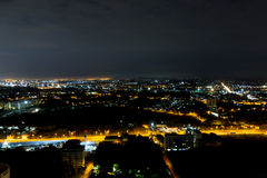Night view Pattaya jomtien Thailand Stock Photography