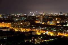 Night view Pattaya jomtien Thailand Stock Image