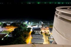 Night view Pattaya jomtien Thailand Royalty Free Stock Photos