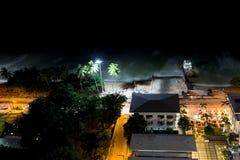 Night view Pattaya jomtien Thailand Royalty Free Stock Photography