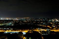 Night view Pattaya jomtien Thailand Royalty Free Stock Images