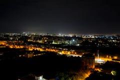 Night view Pattaya jomtien Thailand Royalty Free Stock Photo