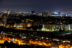 Night view Pattaya jomtien Thailand Stock Images