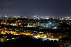 Night view Pattaya jomtien Thailand Stock Photo