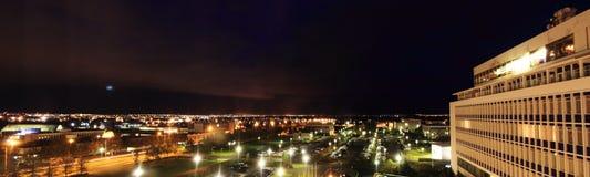 Night view  in Reykjavik Stock Image