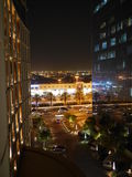 Night view of Riyadh City Stock Image