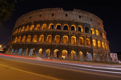 Night view in Rome Royalty Free Stock Photography