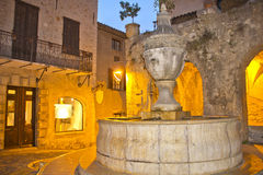 Night view of Saint Paul de Vence Royalty Free Stock Image