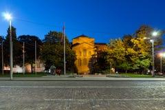 Night view of Saint Sofia Church, Bulgaria Stock Photography