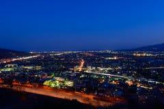 Night view at Seisho region, Kanagawa, Japan Royalty Free Stock Image