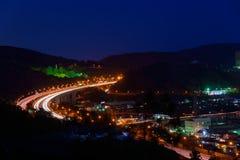 Night view at Seisho region, Kanagawa, Japan Royalty Free Stock Photo