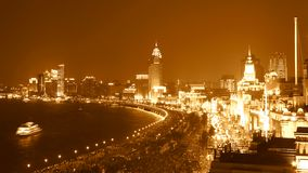 Night view in shanghai Royalty Free Stock Photography