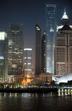 Night view of Shanghai, China Stock Images