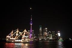 Night View of the SHANGHAI,CHINA Stock Photos