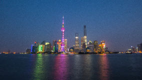 Night view of Shanghai Royalty Free Stock Images