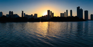 Night view of Sharjah Royalty Free Stock Images