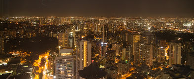 Night view of Singapore. Downtown Core from another perspective Stock Images