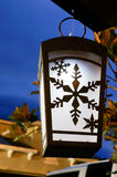 Night view of a solar light Stock Image