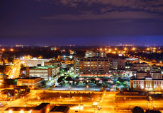 Night view of St Jude Children Hospital Royalty Free Stock Image