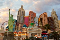 Night scene, Las Vegas Royalty Free Stock Photography
