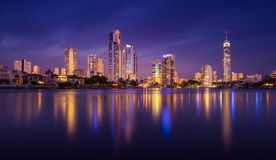Surfers Paradise skyline, Australia Stock Photos