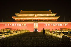 Night View of Tiananmen Royalty Free Stock Image