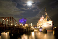 Night view @ Tokyo Disney Sea. The view of Tokyo Disney Sea in Japan stock image