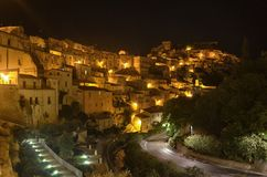 The town of Ragusa Royalty Free Stock Images