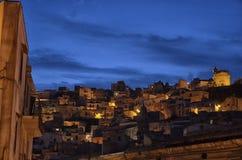 The town of Ragusa Ibla Royalty Free Stock Photography