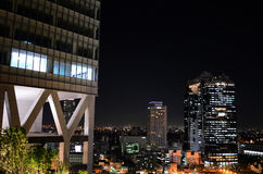 Night view of Umeda, Osaka Japan. Stock Photography