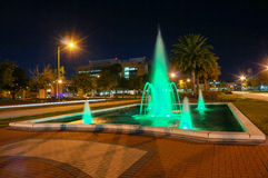 Night view of University of South florida Royalty Free Stock Image