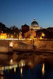 Night view on the Vatican Royalty Free Stock Image