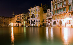 Night of view in Venice Royalty Free Stock Image