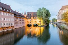 Nurnberg city in Germany Stock Photography