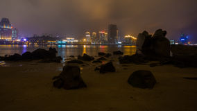 Night View of Xiamen Stock Image