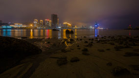 Night View of Xiamen Stock Images
