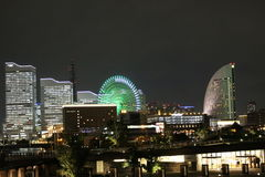 Night View of Yokohama Royalty Free Stock Photography