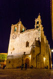 Night vision in Caceres, Spain Stock Images