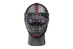 Night vision goggles, front view Royalty Free Stock Image