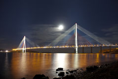Night Vladivostok. Russia Stock Photo