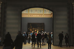 Night Watch Rembrandt in  Rijksmuseum Stock Photography