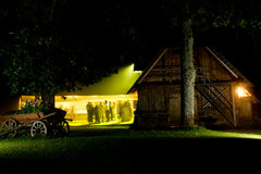 Night Wedding Party Stock Image