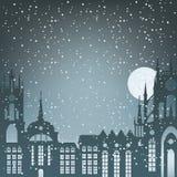 Night winter Stock Photo