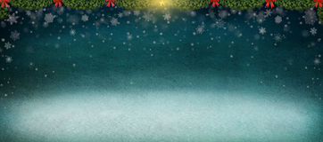 Night winter background. Royalty Free Stock Image