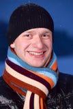 Night winter portrait Stock Photography