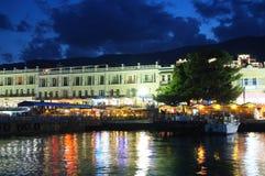 Night Yalta Stock Images