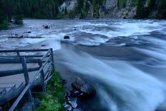 Night at Yellowstone River Royalty Free Stock Photography