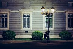 Night Young Urban Royalty Free Stock Images
